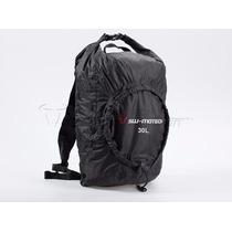 Maleta Backpack 30lt Swmotech Plegable Flexpack Cabe Casco