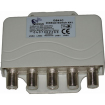 Diseqc Switch 4x1 Ibra Satelital Fta