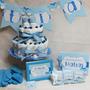 Baby Shower Decoracion Souvenir Torta De Pañales Recuerdos