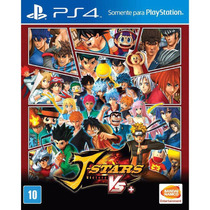 Jogo Novo Lacrado J-stars Victory Vs Para Playstation 4 Ps4