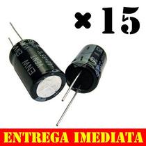 Kit Capacitor Bipolar 22uf X 250v Para Driver Corneta 22x250