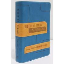 Bíblia Sagrada De Estudo Facilitado Nvi Para Homem