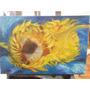 Quadropintura Óleo Sobre Tela - Girasssois Van Gogh
