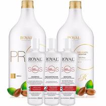 Escova Progressiva + Sos Pós Progressiva Royal Professional