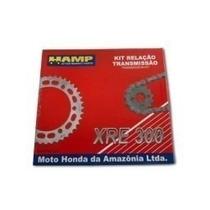 Kit Relação Xre 300 Original Honda Hamp Com Retentor