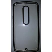 Funda Protector Caucho Flexy Glass Trasparente Moto G3