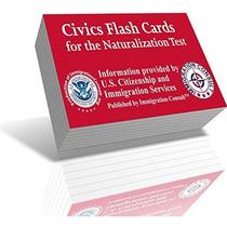 Examen De Ciudadanía Cívica Tarjetas Flash Para El Nuevo Us