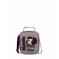Lonchera Escolar Para Niña Mafalda Mod. Ma60607-3 De Chenson