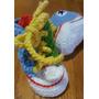 Championes En Crochet Para Bebé. Largo De Pie: 10 Cm