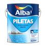 Alba Piletas Latex Acrilico 10 Litros Celeste Alba Pisano