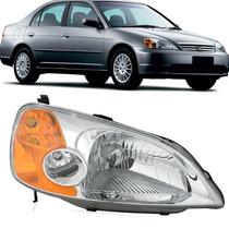 Farol Honda Civic 2001 2002 2003 Elétrico - Tyc Ld
