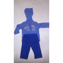 Conjunto Tipo Mono Para Niño Calvin Klein Talla 6-9 M