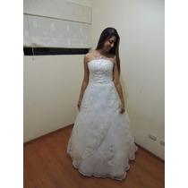 Vestido De Novia 2015 (flores Y Pedreria)
