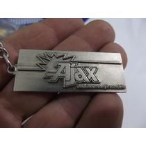 Chaveiro Original Baterias Ajax Anos 80 Em Metal