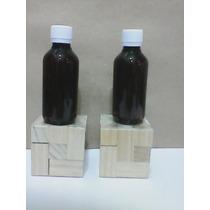 Botella Envase Pet 120 Ml Tapa Normal Ámbar