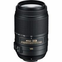 Lente Nikon Af-s Dx Nikkor 55-300mm F/4.5-5.6g Ed Vr Nova