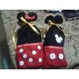 Cotillones Infantiles Mickey Y Minnie Mouse En Tela Bellos