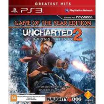Uncharted 2 Among Thieves Ps3 Jogo Novo Original Lacrado