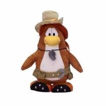 Club Penguin Pelucia Puffle Handler - Com Moeda
