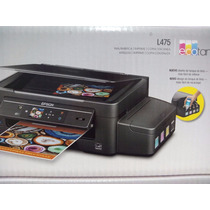 Epson L475 Impresora Sistema De Tinta Continua Original