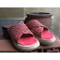 Sandalias Gomón Cruzadas Yute Multicolor