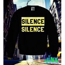 Sudadera Silence Dorada Moda 2016 Jinx 100% Original