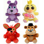 Muñeco Peluches Five Nights At Freddys Foxy Bonnie Chica