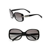 Gafas Prada Gafas De Sol - Pr08os / Frame Lente Negro Gray