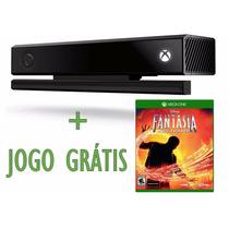 Sensor Kinect Xbox One Microsoft + Jogo Disney