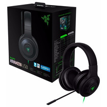 Headset Razer Kraken Usb 7.1 Surround Sound Pc / Ps4 / Mac