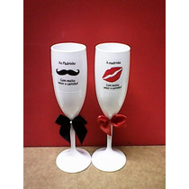 10 Taça Champagne Personalizada Acrílico