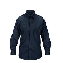 Camisa Tactica Propper Long Sleeve Azul Marino Xl Regular