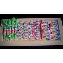 Golosinas Personalizadas Candy Bar Infantiles Adultos X 50