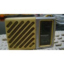 Antigo Rádio De Bolso Sanyo Rp1280.