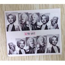 Exclusivos Stickers De Uñas Al Agua Vintage Marilyn Monroe