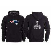 Sudadera Super Bowl 49 Nfl New England Patriots Patriotas