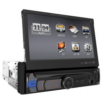 Autoestereo Pantalla Power Acoustik Pdr-780 Usb 1 Din 7