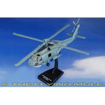 Helicóptero Sea Hawk Sh 60 - Kit Para Montar Com Base 23 Cm