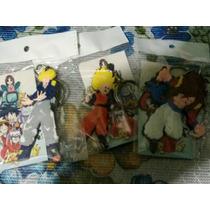 Llaveros Dragon Ball Z Goku Vegeta Trunks Super Saya Dios