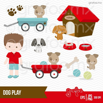 Kit Imprimible Perros Imagenes Clipart Cod 11