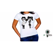 Camiseta Branca Tim Burton (up Idea)