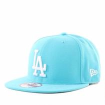 Boné Mlb Los Angeles Dodgers Azul Bebe Snapback Aba Reta