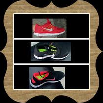 Zapatos Deportivos Nike Free 5,0 Para Damas Y Caballeros