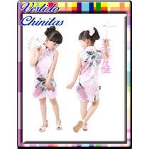 Vestido Chino Estilo Cheongsam