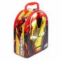 Lonchera Metálica Mod. Iron Man Aluminio Original Marvel