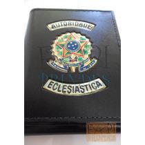 Porta Cheques Notas Autoridade Eclsiástica Brasão República