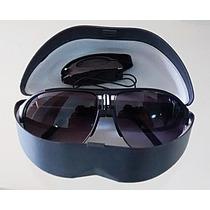 Oculos De Sol Estilo Mascara Aviador Degrade Protecao Uv 400