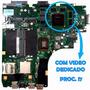 Placa Mãe Asus K46cm - Com Vídeo Dedicado - Proc. I7 (6989)
