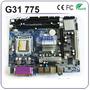 Tarjeta Madre Chipset Intel G31lm 775 Ddr2 Vga/lan/audio/usb