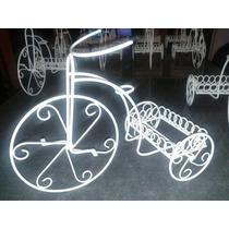 Bicicleta De Hierro Centro De Mesa Souvenier